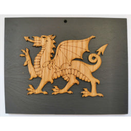 Slate Dragon Plaque