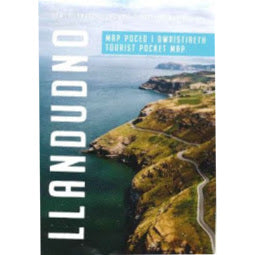 Load image into Gallery viewer, Front cover of Llandudno Pocket Map