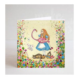 Load image into Gallery viewer, Alice in Wonderland Greeting Card