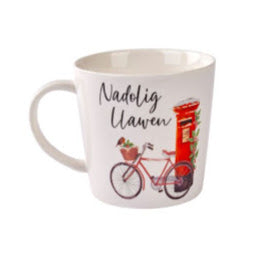 Load image into Gallery viewer, Image of Nadolig Llawen Mug