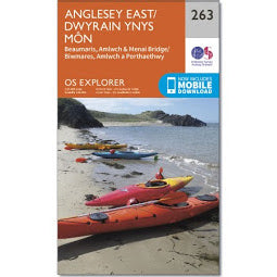 Load image into Gallery viewer, Front Cover of OS 263 - Anglesey East Map