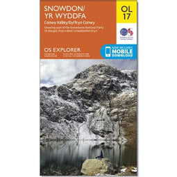 Front Cover of OS - OL17 Snowdon Map