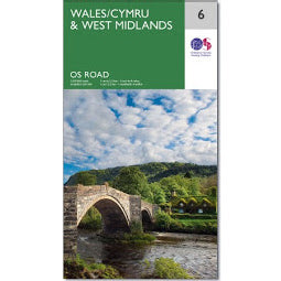 Load image into Gallery viewer, Front Cover of OS Map for Wales and West Midlands
