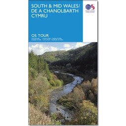 OS South Wales Touring Map