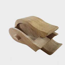 Fish - Oak Trinket Box