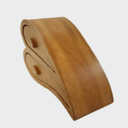 Load image into Gallery viewer, Large Heart Oak Trinket Box