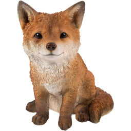 Load image into Gallery viewer, Sitting Fox Cub