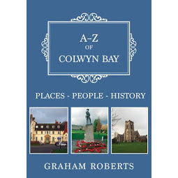 Front Cover of A-Z  of Colwyn Bay book