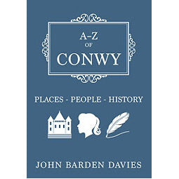Front cover of A-Z of Conwy book