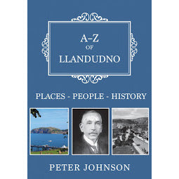 Front Cover of A-Z of Llandudno book