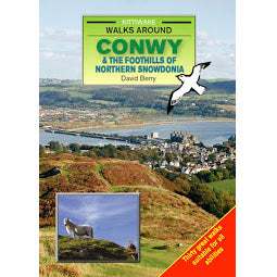 Front cover of Kittiwakes Conwy guide book
