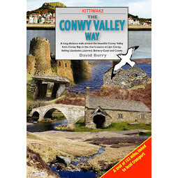 Front cover Kittiwake Conwy Valley guide book