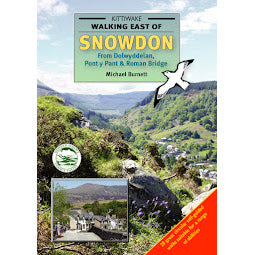 Front cover Kittwake East of Snowdon guide book