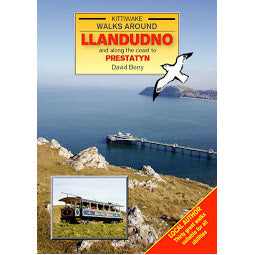 Load image into Gallery viewer, Front cover Kittiwake Llandudno guide book