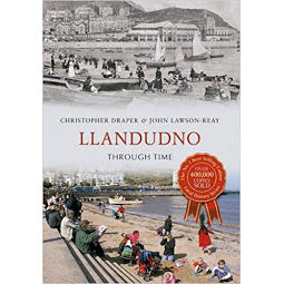 Load image into Gallery viewer, Front cover of Llandudno Through Time book