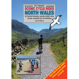 Front cover Kittiwake Scenic Cycle Rides North Wales guide book