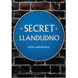 Load image into Gallery viewer, Front Cover of Secret Llandudno book
