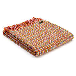 Image of check oasis festival throw