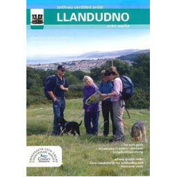 Front Cover of Llandudno Area Walks Map