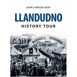 Load image into Gallery viewer, Front cover Llandudno History Tour book