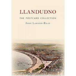 Front cover Llandudno Postcard Collection book