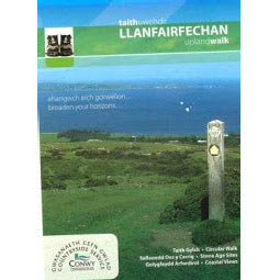 Front Cover of the Llanfairfechan Upland Walks