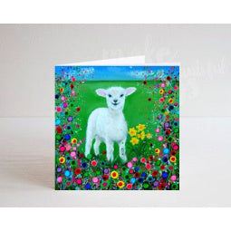 Welsh Lamb Greeting Card