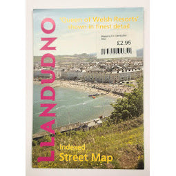 Load image into Gallery viewer, Front Cover of Llandudno Street Map