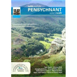 Front Cover of Pensychnant Upland Walks Map