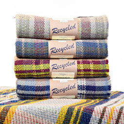 Image of Random recycled small blankets