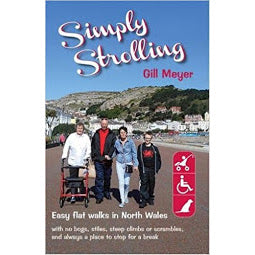 Front cover Simply Strolling book cover