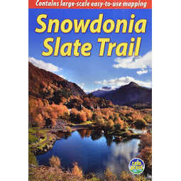 Front cover of Snowdonia Slate Trail