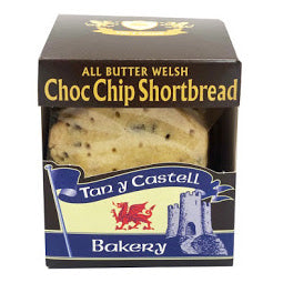 Box of Tan Y Castell Choc Chip Shortbread