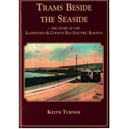 Front cover Trams Beside the Seaside book