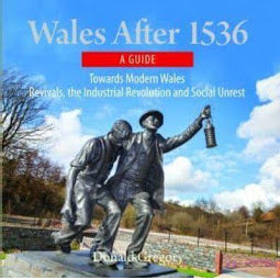 Front cover Wales after 1536 book