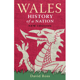 Front cover Wales History of a Nation book