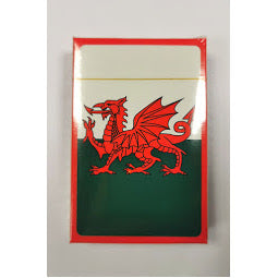 Front of Card Pack image of Wales Flag Playing cards