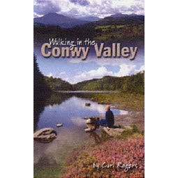 Front cover Walking in the Conwy Valley book
