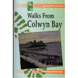 Front cover Walks from Colwyn Bay book