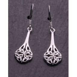 Celtic Earrings (Small) Sterling Silver