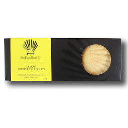 Load image into Gallery viewer, Lemon Aberffraw Biscuits – 205g gift box