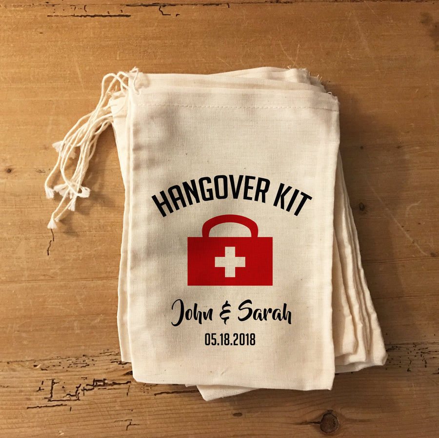 Hangover Kit Medical Bag Party Favors