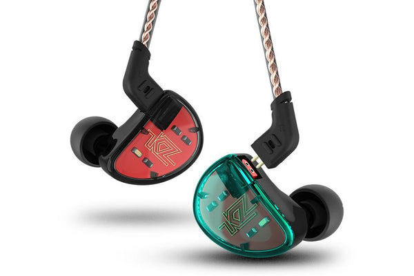 KZ AS10 5BA Five Balanced Armature Drivers Noise Cancelling in-Ear Earphone - Audiophile Store