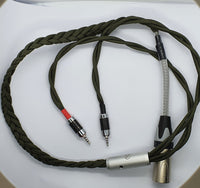 HiFiMAN / V1000 /  Ananda / Sundara / Arya Planar Magnetic / (4-Pin XLR) Headphone Cable - Audiophile Store