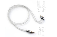 2.5mm Balanced or 3.5mm Headphone Cable Suit MMCX or 0.78pin for FiiO Shanling HiBy SONY - Audiophile Store