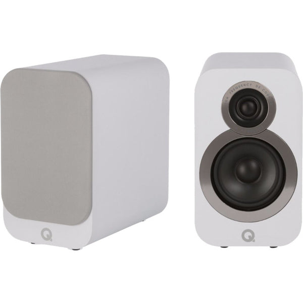 SERIES 2 - Q ACOUSTICS Q3010IWH Bookshelf Speakers - Audiophile Store