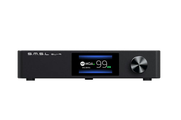 S.M.S.L SU-9 High-Resolution MQA Fully Balanced DAC & Pre-Amp - Audiophile Store