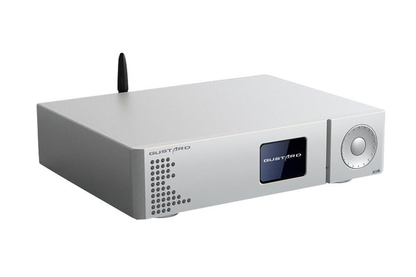 GUSTARD DAC-X16 (2x ES9068AS) - Fully Balanced (Class A) MQA Capable DAC - Audiophile Store