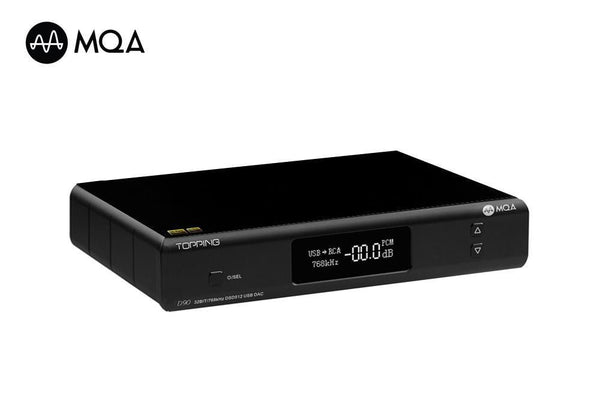 TOPPING D90 - Fully Balanced DAC from Topping Audio (MQA Enabled Version) - Audiophile Store