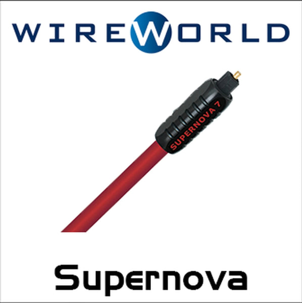 Wireworld Supernova 7 Glass Toslink Optical Cable - Audiophile Store